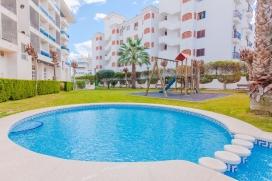 Apartamento bonito y confortable con piscina comunitaria en Albir, en la Costa Blanca, España para 2 personas. El apartamento está situado en una zona residencial, cerca de restaurantes y bares, tiendas y supermercados y a 200 m de la p, Albir