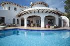 Lola,Villa rústica y confortable en Altea, en la Costa Blanca, España  con piscina privada para 8 personas...
