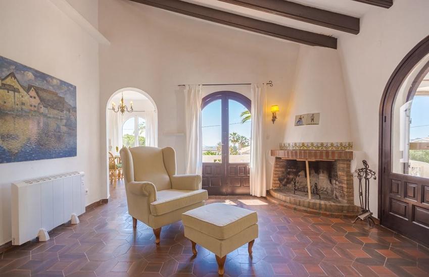 Casa de vacaciones en benissa helga 4 villas guzm n - Alquiler apartamentos costa blanca ...