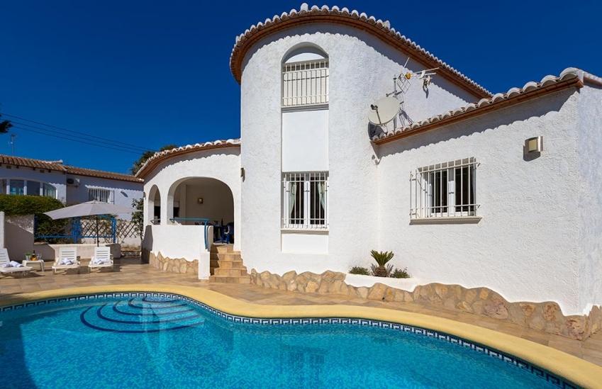 Casa de vacaciones en alquiler de invierno en benissa olivos invierno villas guzm n - Apartamentos en costa blanca ...