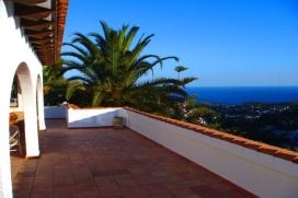 Casa de vacaciones en Benissa, en la Costa Blanca, España  con piscina privada para 2 personas, Benissa