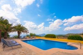 Casa de vacaciones  con piscina privada en Benissa, en la Costa Blanca, España para 6 personas, Benissa