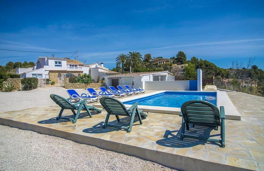 Casa rural en benissa joana 2 villas guzm n - Alquiler apartamentos costa blanca ...