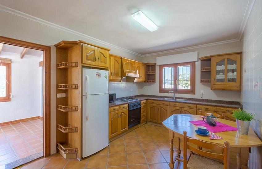 Casa rural en benissa pascual 6 villas guzm n - Alquiler apartamentos costa blanca ...