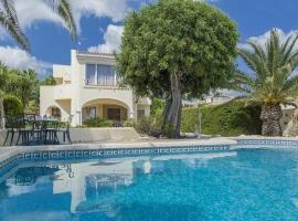 Villa maravillosa y graciosa  con piscina privada en Benissa, en la Costa Blanca, España para 4 personas