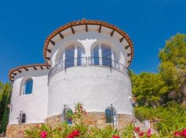 Villa maravillosa y clásica en Benissa, en la Costa Blanca, España  con piscina privada para 6 personas
