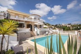 Villa bonita y acogedora  con piscina privada en Benissa, en la Costa Blanca, España para 4 personas, Benissa