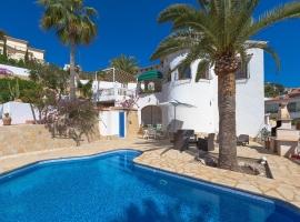 Villa en Benissa, en la Costa Blanca, España  con piscina privada para 6 personas