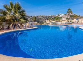 Apartamento en Benitachell, en la Costa Blanca, España  con piscina comunitaria para 2 personas