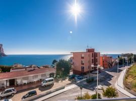 Apartamento moderno y confortable  con piscina comunitaria en Calpe, en la Costa Blanca, España para 4 personas