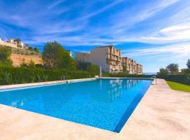 Apartamento  con piscina comunitaria en Calpe, en la Costa Blanca, España para 2 personas