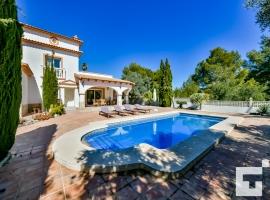 Villa bonita y confortable en Calpe, en la Costa Blanca, España  con piscina privada para 6 personas
