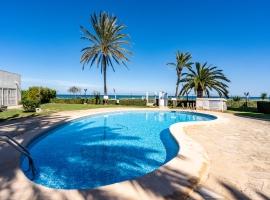 Apartamento maravilloso y gracioso  con piscina comunitaria en Denia, en la Costa Blanca, España para 3 personas