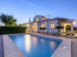 Casa de vacaciones maravillosa y confortable en Denia, en la Costa Blanca, España  con piscina privada para 6 personas