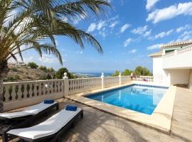 Villa maravillosa y de lujo  con piscina privada en Denia, en la Costa Blanca, España para 10 personas