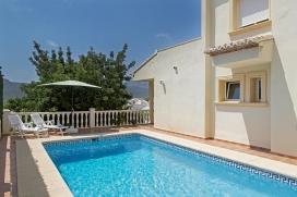 Villa en Jalon, en la Costa Blanca, España  con piscina privada para 2 personas, Jalon