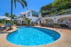 Casa Que Sera,Villa clásica y graciosa  con piscina privada en Javea, en la Costa Blanca, España para 4 personas...