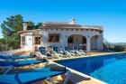 Casablanca 6,Villa en Javea, en la Costa Blanca, España  con piscina privada para 6 personas...