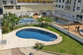 Apartamento en Moraira, en la Costa Blanca, España  con piscina comunitaria para 4 personas, Moraira