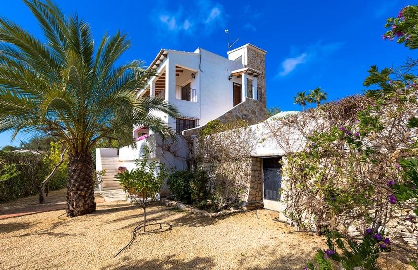 Casa de vacaciones en moraira irina 4 villas guzm n - Casas de vacaciones en alicante ...