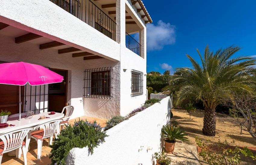 Casa de vacaciones en alquiler de invierno en moraira for Casas con piscina alquiler verano