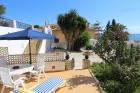 Bungalow Algas,Casa rústica y graciosa  con piscina comunitaria en Moraira, en la Costa Blanca, España para 6 personas...