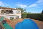 Casa La Chata 6,Villa clásica en Moraira, en la Costa Blanca, España  con piscina privada para 6 personas...