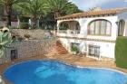 La Chata 4,Villa clásica en Moraira, en la Costa Blanca, España  con piscina privada para 4 personas...