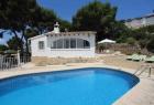 Tegel,Villa rústica y clásica en Moraira, en la Costa Blanca, España  con piscina privada para 4 personas...