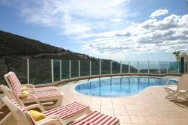 Villa  con piscina privada en Moraira, en la Costa Blanca, España para 4 personas, Moraira