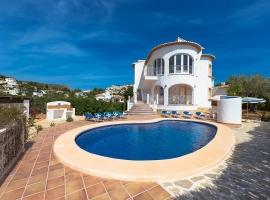 Grande villa comfortable à Calpe, sur la Costa Blanca, Espagne  avec piscine privée pour 16 personnes