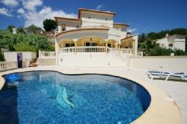 Grande villa classique  avec piscine privée à Moraira, sur la Costa Blanca, Espagne pour 6 personnes, Moraira