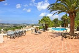 Villa Tucan,Grande villa charmante à Moraira, sur la Costa Blanca, Espagne  avec piscine privée pour 6 personnes...