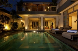 Beautiful and luxury villa in Canggu, Bali, Indonesia  with private pool for 2 persons, Canggu