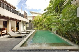 Wonderful and cheerful villa  with private pool in Canggu, Bali, Indonesia for 6 persons, Canggu