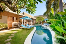 Beautiful and cheerful villa in Seminyak, Bali, Indonesia  with private pool for 6 persons, Seminyak