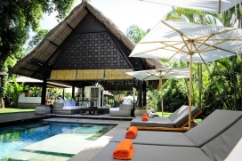 Beautiful and luxury villa  with private pool in Canggu, Bali, Indonesia for 6 persons, Seminyak