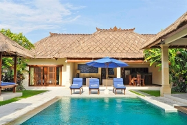 Large and luxury villa  with private pool in Seminyak, Bali, Indonesia for 8 persons, Seminyak