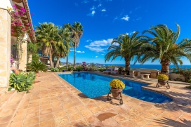 Large and comfortable villa  with private pool in Benissa, on the Costa Blanca, Spain for 2 persons, Benissa