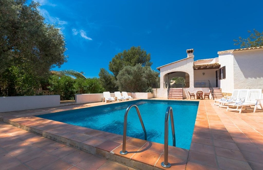 Villa for long term rental in benissa spain morena invierno - Swimming pool repairs costa blanca ...