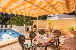 Villa Andrea, Wonderful and comfortable villa in Benissa, on the Costa Blanca, Spain  with private pool for 8 persons...