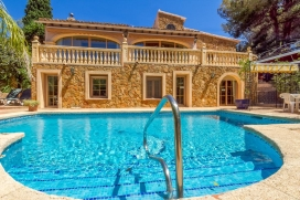 Wonderful and romantic villa in Benissa Costa, on the Costa Blanca, Spain  with private pool for 6 persons, Benissa