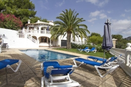 Villa Irena, Wonderful and comfortable villa  with private pool in Benissa, on the Costa Blanca, Spain for 10 persons...