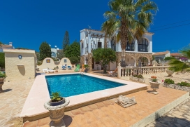 Beautiful and comfortable villa in Calpe, on the Costa Blanca, Spain  with private pool for 2 persons, Calpe