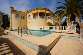 Villa  with private pool in Calpe, on the Costa Blanca, Spain for 8 persons, Calpe