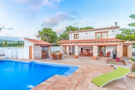 Wonderful and nice villa in Calpe, on the Costa Blanca, Spain  with private pool for 8 persons, Calpe