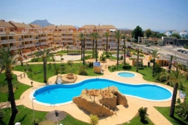 The apartment in Denia has 2 bedrooms with capacity for 4/5 people. Located 350m., Denia