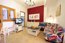 Nice and cheerful apartment in Javea, on the Costa Blanca, Spain for 5 persons. The apartment is sit, Javea