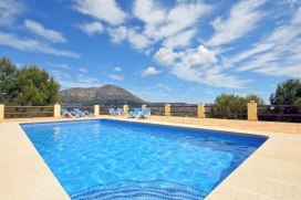Holiday home in Javea, on the Costa Blanca, Spain  with private pool for 8 persons, Javea