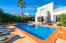 Holiday home in Javea, on the Costa Blanca, Spain  with private pool for 4 persons, Javea
